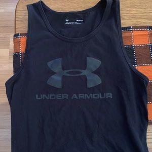 Men's Medium Under Armour Black Sleeveless Shirt